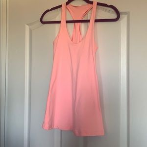 Lululemon workout baby pink top